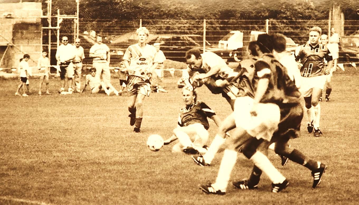 Erste Bezirksligasaison der SV Remshalden 1993/94