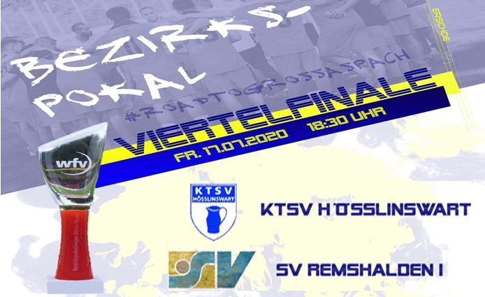 Bezirkspokal 2019/20, Viertelfinale