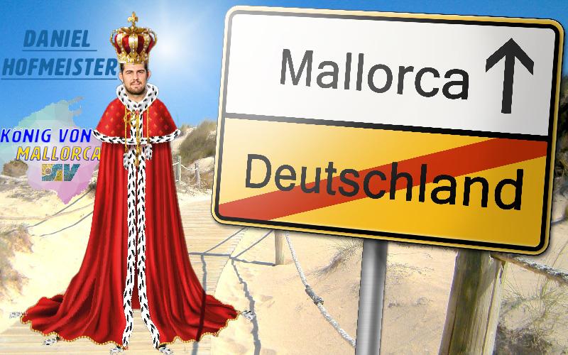 ++++BREAKING News – Daniel Hofmeister ist der König von Mallorca +++