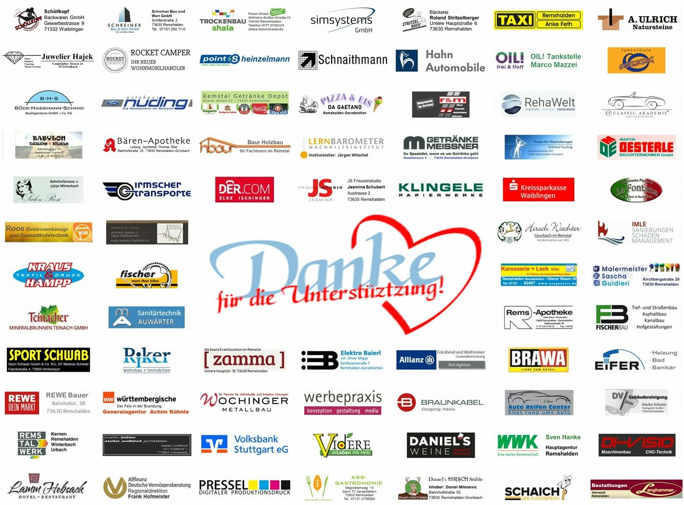 Unterstützt unsere Sponsoren und Werbepartner